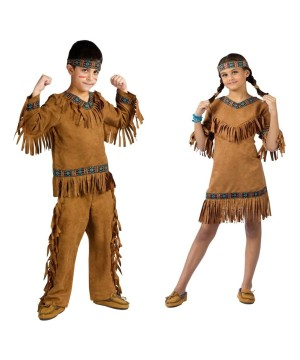 Native American Boys And Girls Costumes