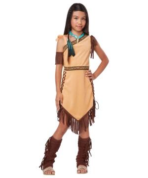 Native American Princess Girls Costume