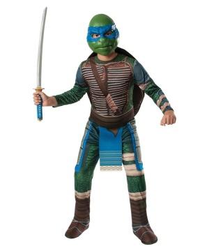 Teenage Mutant Ninja Turtles Leonardo Mens Costume Movie Tv Superhero