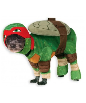 Teenage Mutant Ninja Turtles Tmnt Raphael Pet Dogs Halloween Costume