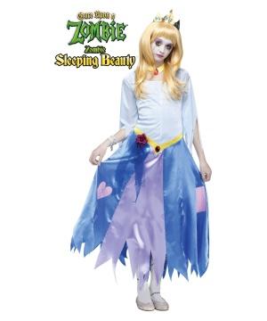 Once Upon A Zombie Sleeping Beauty Girls/ Teen Costume