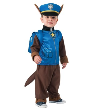 Paw Patrol Chase Police Little Boys Costume