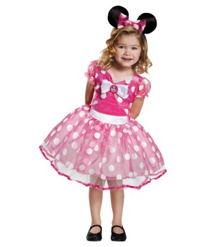 Minnie Mouse Pink Little Girls Tutu Costume Dress