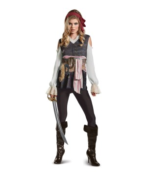 Pirates Of The Caribbean Jack Sparrow Women Costume