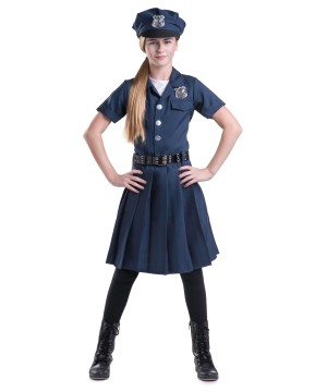 Police Chief Girls Costume