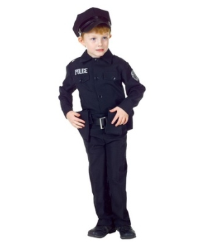 Policeman Kid Costume