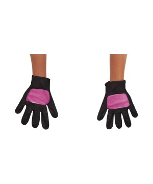 Girls Pink Power Ranger Toddler Gloves