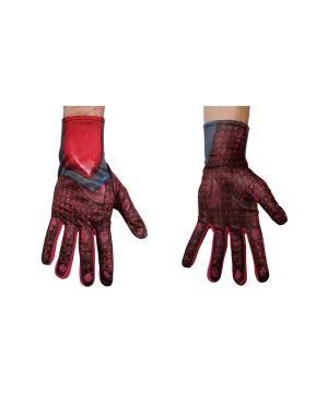 Power Ranger Red Men Costume Gloves