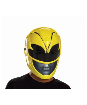 Power Rangers Movie Girls Yellow Mask
