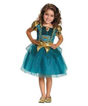 Disney's Brave Princess Merida Little Girls Costume