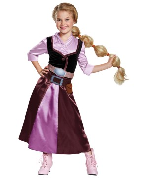 Princess Rapunzel Girls Costume
