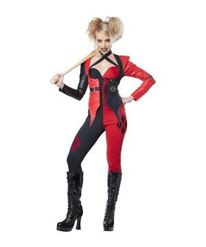 Jester Chick Psycho Women Costume