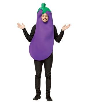 Purple Eggplant Emoji Costume