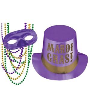 Purple Mardi Gras Accessory Kit