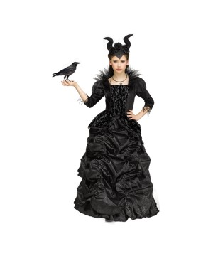 Purple Wicked Queen Girls Costume