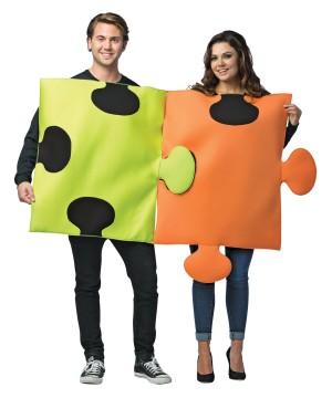 Puzzle Pieces Couples Costume Set