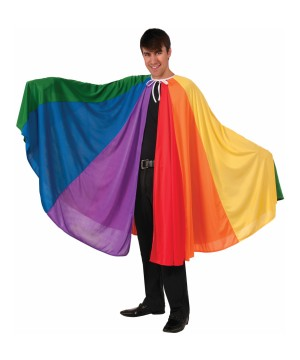 Stylish Pride Rainbow Parade Women Cape
