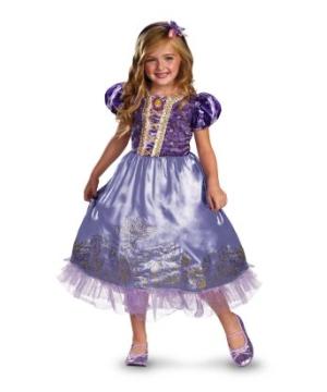 Rapunzel Sparkle Kids Costume Deluxe