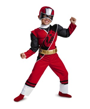 Baby Boys Red Power Ranger Toddler Costume