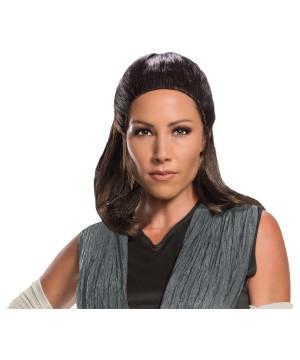 Rey Adult Wig Last Jedi Costume