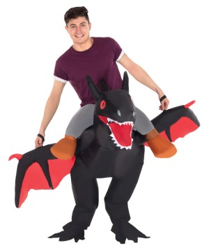 Ride Dragon Inflatable Costume