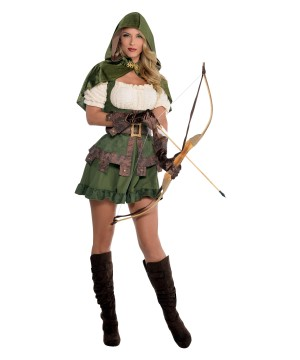 Robin Hoodie Archer Woman Costume
