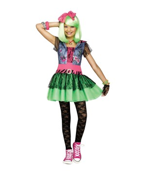 1980s Rockin Girls Costume