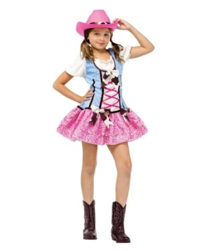 Rodeo Sweetie Girl Costume