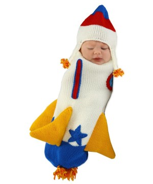 Roger the Rocket Ship Baby Boy Bunting Costume