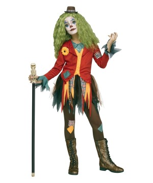 Rowdy Clown Costume Womens