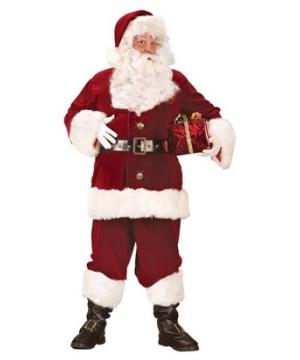 Santa Adult Deluxe Costume