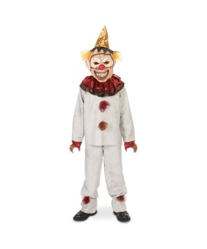 Scary Circus Clown Boys Costume
