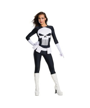 Punisher Secret Wishes Woman Costume