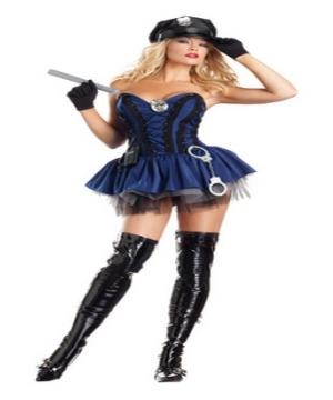 Sexy Stunning Sergeant Adult Costume