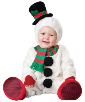 Silly Snowman Baby Costume