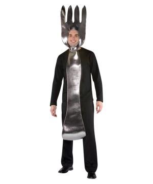 Silver Fork Utensil Adult Costume