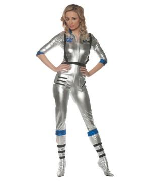 Silver Space Orbit Women Costume
