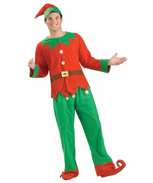 Simply Christmas Elf Man Costume