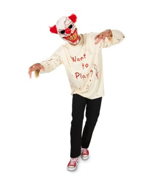 Sinister Playground Clown Mens Costume