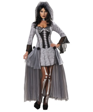 Skeleton Bride Womens Costume Small