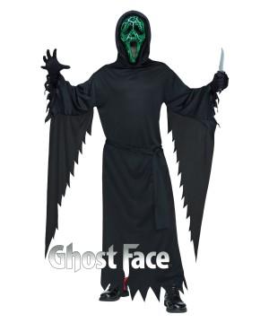Ghost Face Smoldering Scream Men Costume