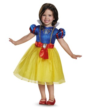 Disney Snow White Girls Costume Dress