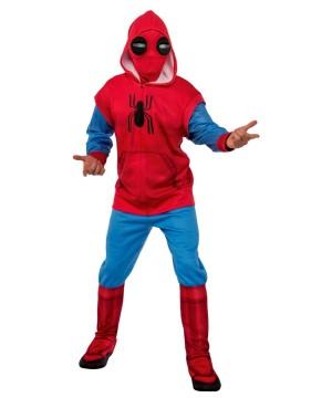Spiderman Homecoming Mens Hoodie And Sweatpants Set