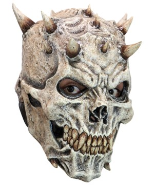 Adult Spiked Skeleton Mask