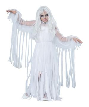Spooky Ghostly Spirit Girl Costume