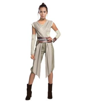 Star Wars Movie Rey Woman Costume