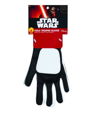 Star Wars The Force Awakens Stormtrooper Boys Gloves