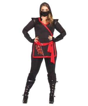 Ninja Plus Size Stealth Dragon Women Costume