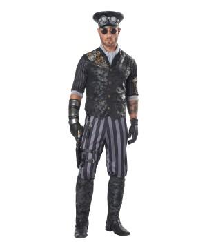 Steampunk Commander Men Costume