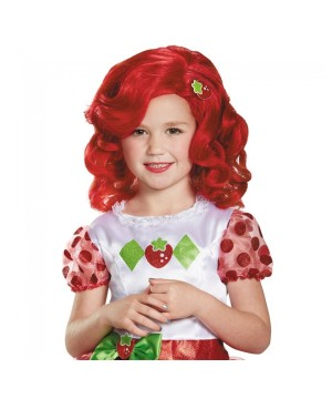 Strawberry Shortcake Wig For Girls